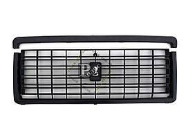 Решетка радиатора ВАЗ 2107 черная (с эмблемой) (пакет)