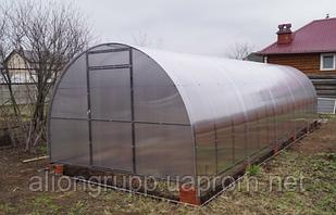 Теплица арочная 3х8х2 в сборе с премиум поликарбонатом 4 мм