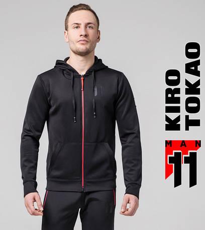 Толстовка для спорта мужская  Kiro Tokao 572 черный-красный