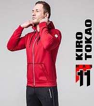 Мужская весенняя толстовка Kiro Tokao 572 красный-белый