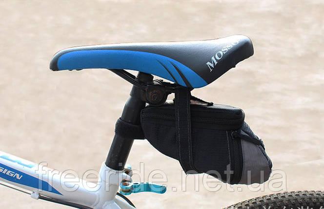 Велосумка подседельная (Serfas-2), сумка под седло, фото 2