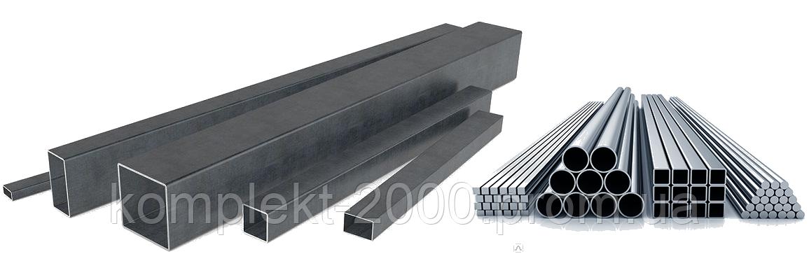 Столбы для забора круглые - квадратные из профнастила   Цена столбика на забор металлопрофиля производителя