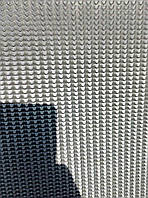 Полиуретан для обуви Tерка 350x350x6мм. рифленый\черный