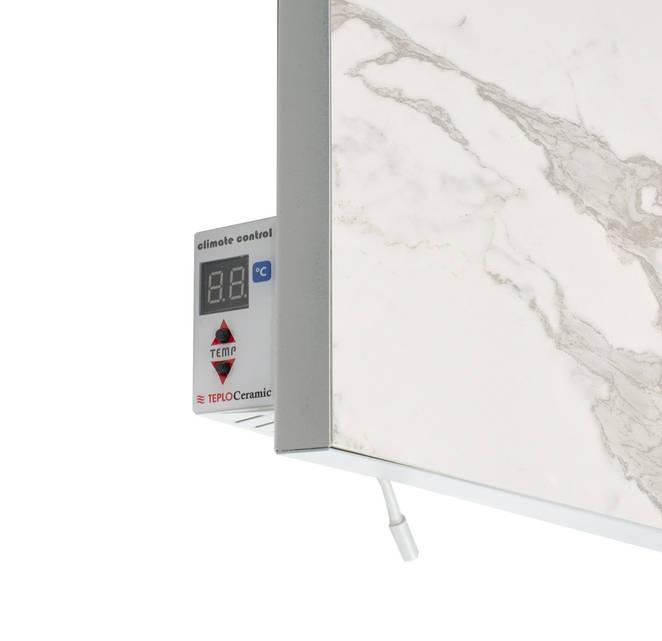 Керамический обогреватель инфракрасный  с терморегулятором мрамор 750 Вт. 15 м.кв. TCM-RA 750