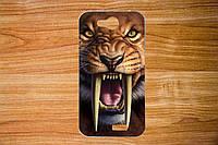Чехол с рисунком для Blackview A5 Саблезубый тигр