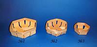 Корзинка из шпона №3 (9х4,5см.)