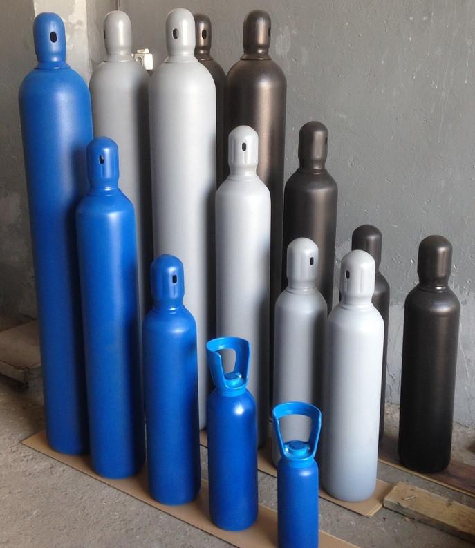 Новый баллон 20л под кислород, углекислоту, аргон, азот, микс и др.