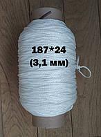 Нить капроновая (полиамидная) tex 187 * 24 (3,1 мм)