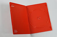 DVD-коробка на 1 диск  червона