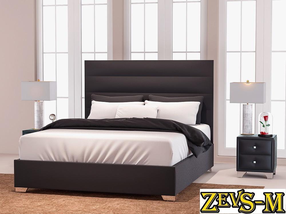 Мягкая кровать Титан ( высокое изголовье )