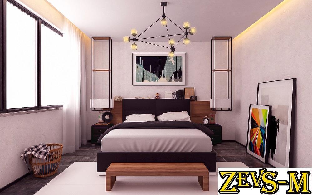 Мягкая кровать Камалия (любого цвета и размера)