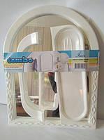 """Зеркало в наборе""""ТОМБО среднее 2004"""", фото 1"""