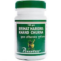 Бріхат Харидра Кханд - алергічна кропив'янка, дерматит, меланодермії, нежить, інші алергічні реакції шкіри