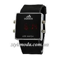 Часы наручные Adidas Led Watch Black-Silver-Black