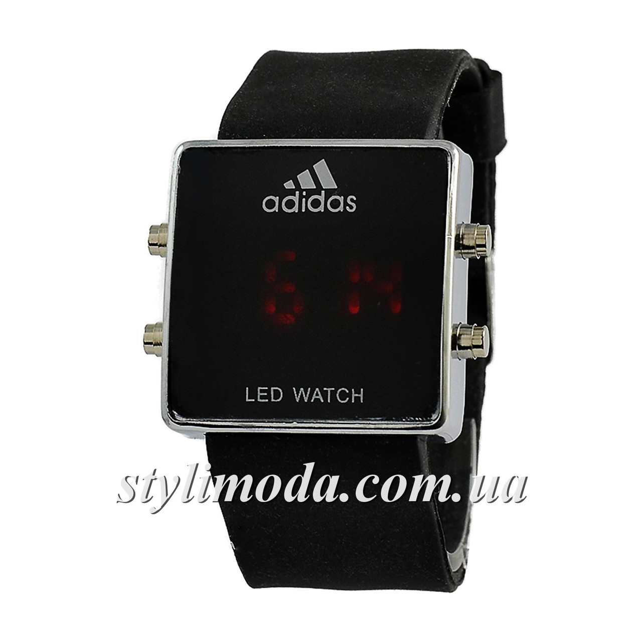 e71268dc Часы наручные Adidas Led Watch Black-Silver-Black - Stylimoda -  интернет-магазин