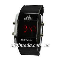 Часы наручные Adidas Led Watch Black-Silver