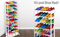 Полка для обуви, подставка для обуви Amazing Shoe Rack на 30 пар