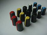 Ручка темно-серая 17.9mm для потенциометров пультов Phonic, Muzon, Mackie (цветная), фото 5