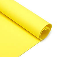 Фоамиран Китай желтый, 1/2 м, 2 мм
