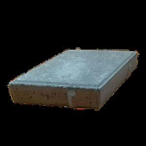 """Тротуарная плитка """"Ромб"""" серая, 40 мм"""