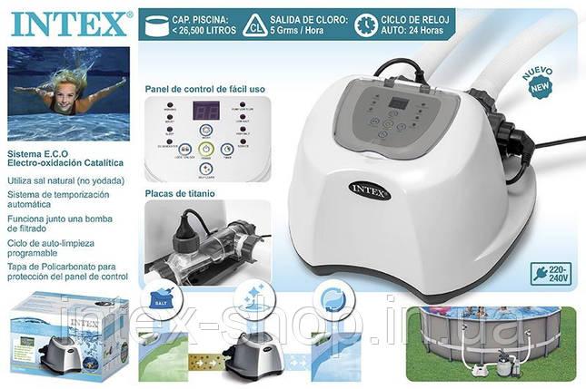 26668 Хлоргенератор (система морской воды) Krystal Clear для бассейна до 26500л, с таймером, фото 2
