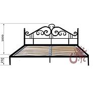 Кованая кровать Керен