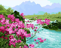Картина для рисования по номерам, пейзаж 40х50 см.
