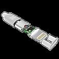 Кабель Promate linkMate-LTF3 Lightning-USB 3 м White, фото 3