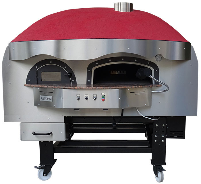 Печь для пиццы на дровах Dr120K Silicone Asterm (Болгария)