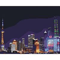 Картины по номерам - Ночной Шанхай