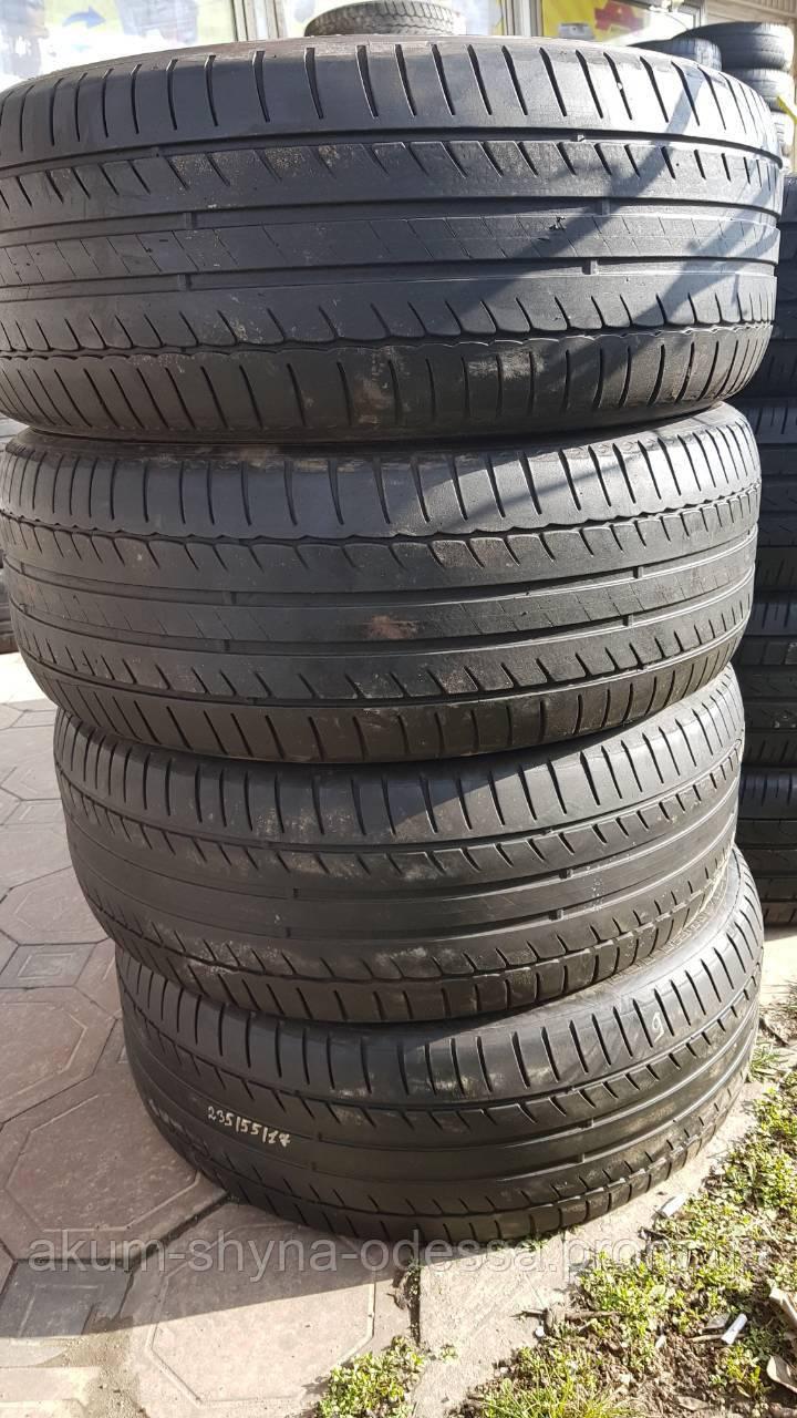 Шины летние б/у 235/55 R17 Michelin, комплект