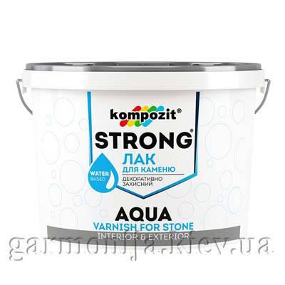 Лак для камня STRONG AQUA Kompozit 0.75 л, фото 2