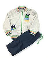 Спортивный костюм для мальчика Бемби Жуки, двухнитка (р.92)