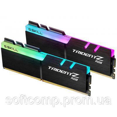 Модуль памяти для компьютера DDR4 16GB (2x8GB) 4000 MHz Trident Z G.Skill (F4-4000C18D-16GTZR)