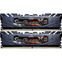 Модуль памяти для компьютера DDR4 32GB (2x16GB) 2400 MHz Flare X Black G.Skill (F4-2400C15D-32GFX)