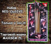 Набор ракет \ Ракеты RED CLUSIVE 7 ракет \ 9 установок  CR5081