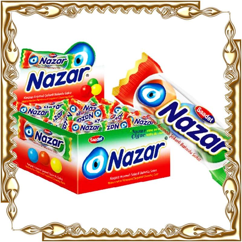 Жевательная резинка Nazar 100 шт.