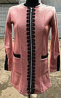 Пальто-кардиган, рост 146-164 см., 350/300 (цена за 1 шт. + 50 гр.)