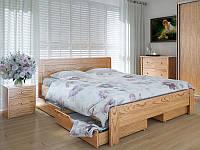 Кровать MeblikOff Марокко с ящиками (140*200) дуб
