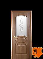 Межкомнатные двери Новый Стиль Овал (золотая ольха)