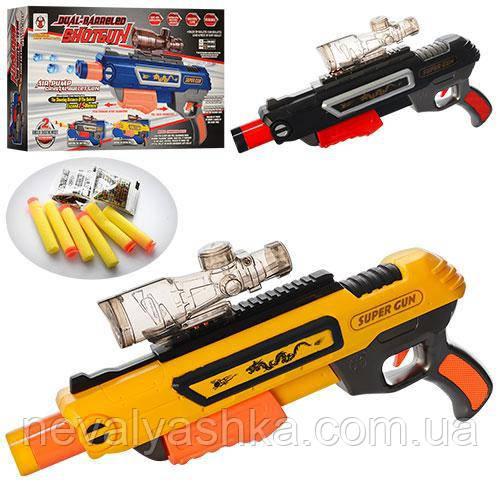 Пистолет водяные пули присоски, K4A, 007017