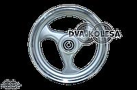Диск колеса передний  3.50-13  литой, 3 спиц, диск