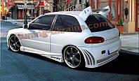 Задний бампер для Mitsubishi Colt 1992-1996