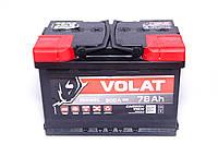 Аккумулятор VOLAT - 78A +правый (L3) 800 пуск