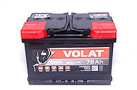 Акумулятор VOLAT - 78A +правий (L3) 800 пуск