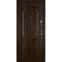 Двери  входные Классика Темный орех ВИП+стандарт (две трубы, квартира)
