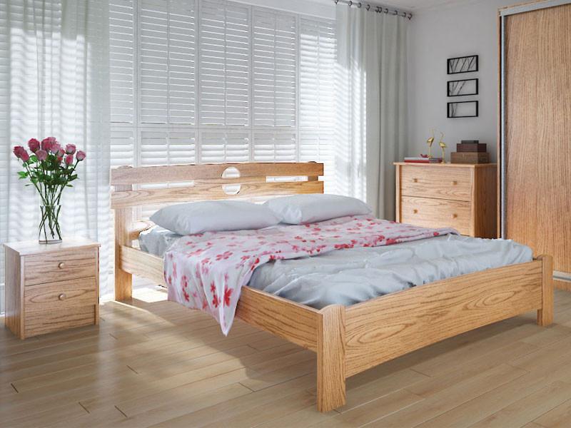 Кровать MeblikOff Кантри (120*190) ольха