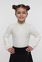 Блузка с кружевом Арт: 114517