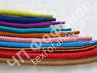 Шнурки обувные 50 см диаметр 5 мм 28 цветов круглые цветные