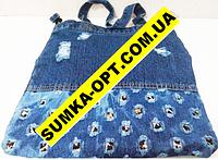 Джинсовые сумки дешево опт(ассорти)33*37